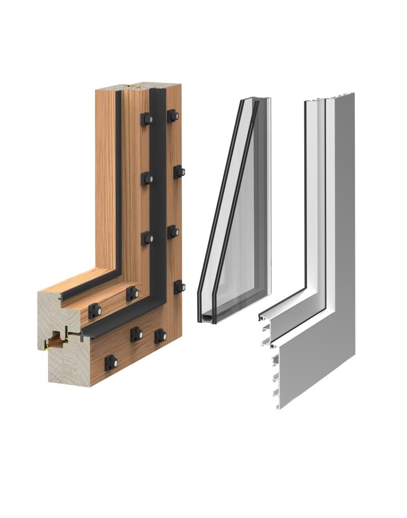 finestre legno-alluminio _ FALEGNAMERIA CORTESE
