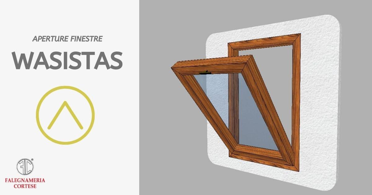 tipi di apertura delle finestre